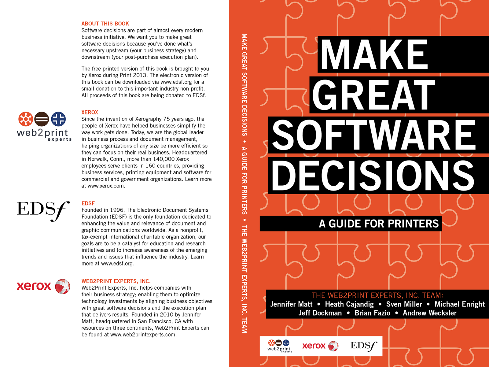 Book Cover Making Program ~ Mike donovan design make great software decisions book cover